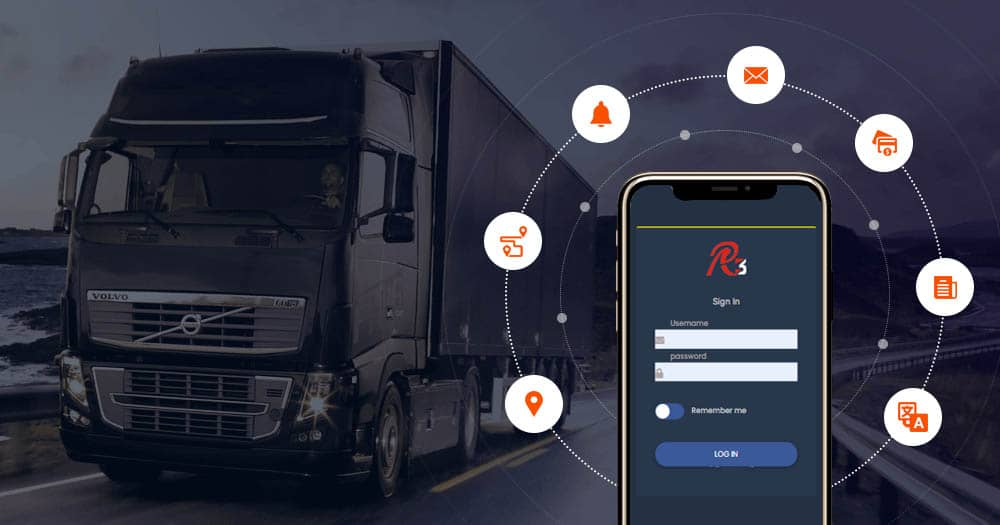 delivery erp application