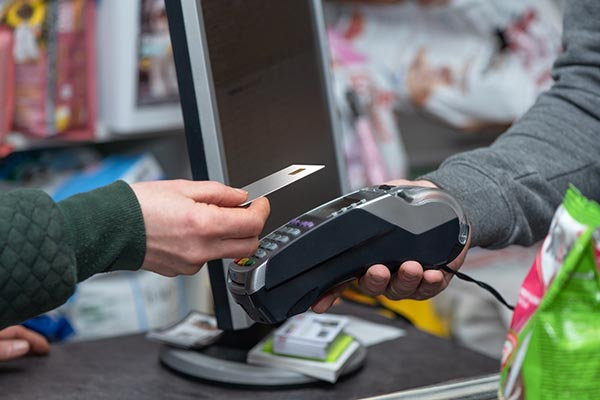 pos machine with erp